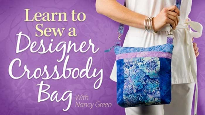Learn to Sew a Designer Crossbody Bag Online Sewing Class