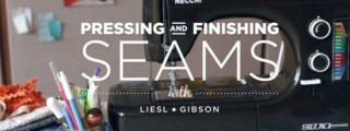 Pressing and Finishing Seams Free Online Sewing Class