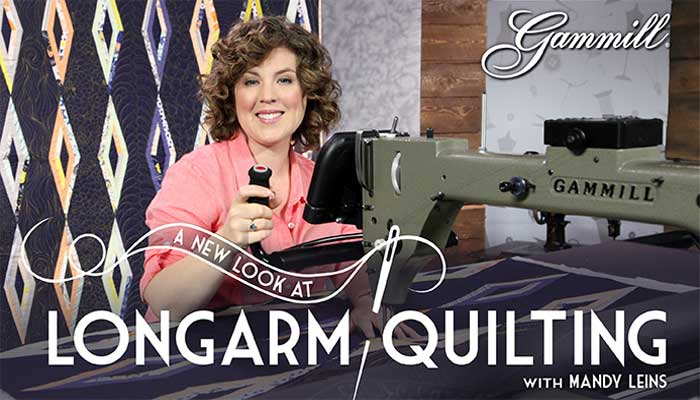 Learn longarm techniques for binding, appliqué and so much more.