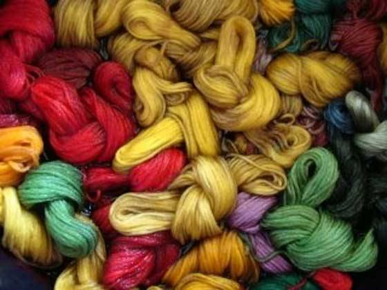 How to overdye cotton floss and yarn