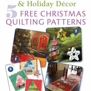 Free eBook: 5 Free Christmas Quilting Patterns