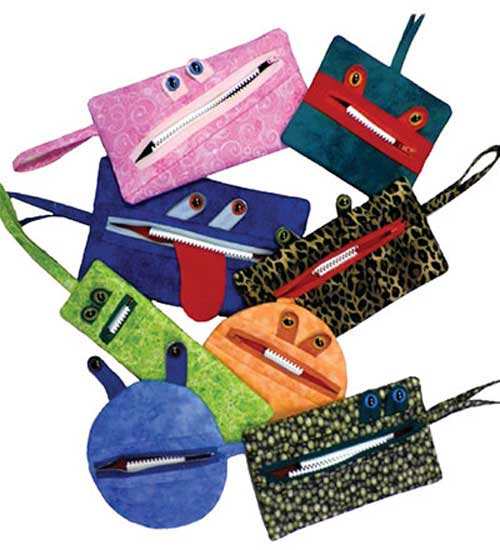 These fun zipper pouches are easy to make and are perfect to fill with treats to give as gifts for any occasion.
