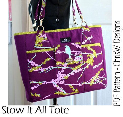 This is the perfect sized tote for a day out shopping, with plenty of pockets to keep you organised.