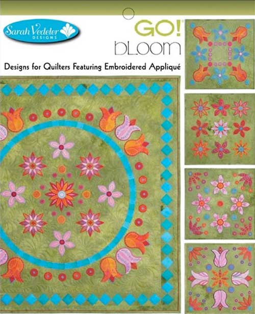 Bloom Embroidery Design Collection