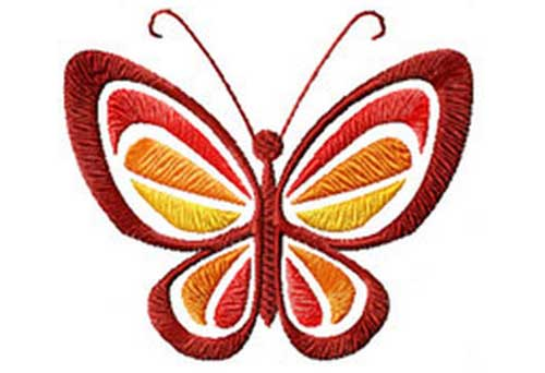 Butterfly - Free Embroidery Design