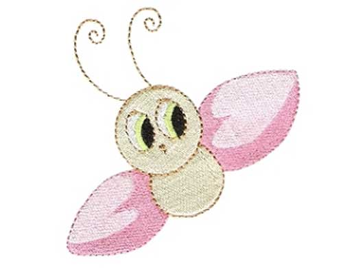 Cute Bug - Free Embroidery Design