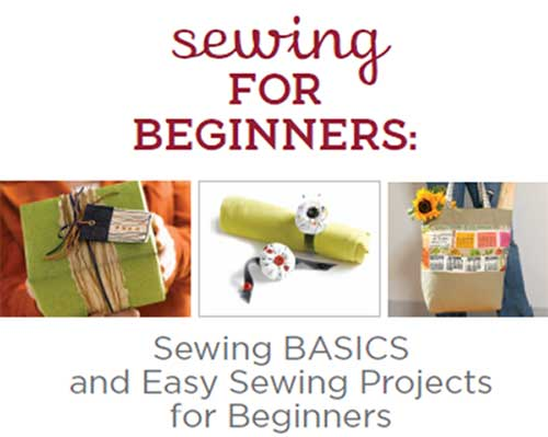 Free eBook: Sewing for Beginners