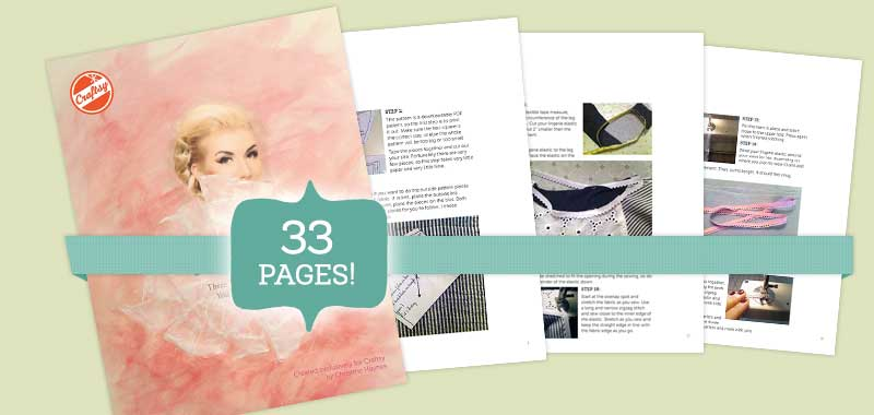 Printable Sewing Lingerie Tutorials