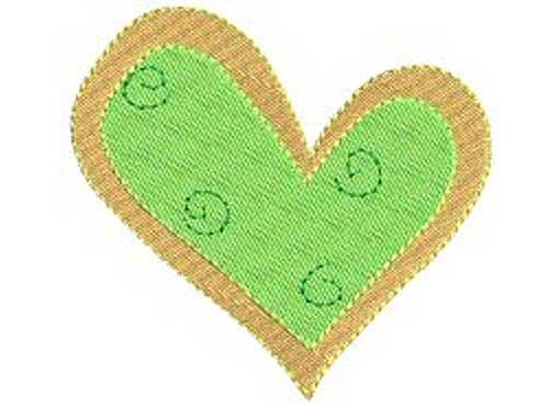 Sweet Heart - Free Embroidery Design Collection