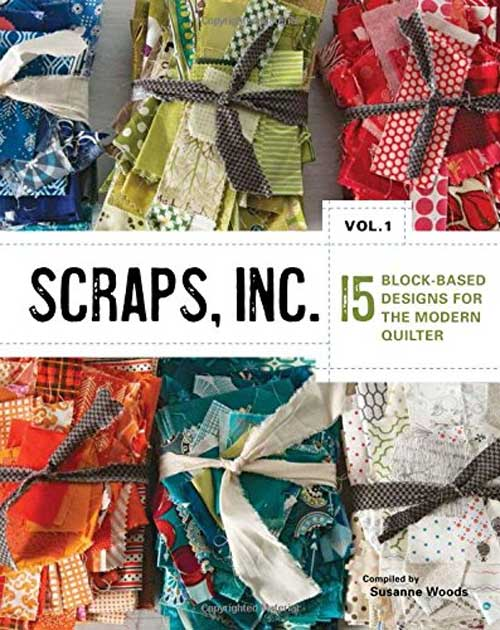 Recycle your fabric scraps and make fantastic, edgy quilt designs from your beloved fabric remnants of past projects.