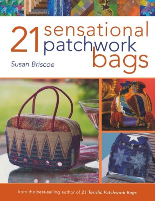 Learn how to easily create your own unique patchwork bags and accessories.