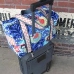 Carry-on Sized Trolley Sleeved Duffle Bag Pattern