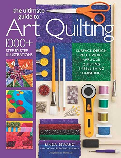 This ultimate guide goes step-by-step through every creative option needed to create an art quilt