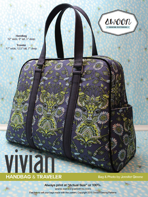 Vivian Handbag & Traveler Sewing Pattern