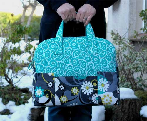 This travel bag is practical, fun and stylish and has plenty of room to fit essentials for a night or weekend away.