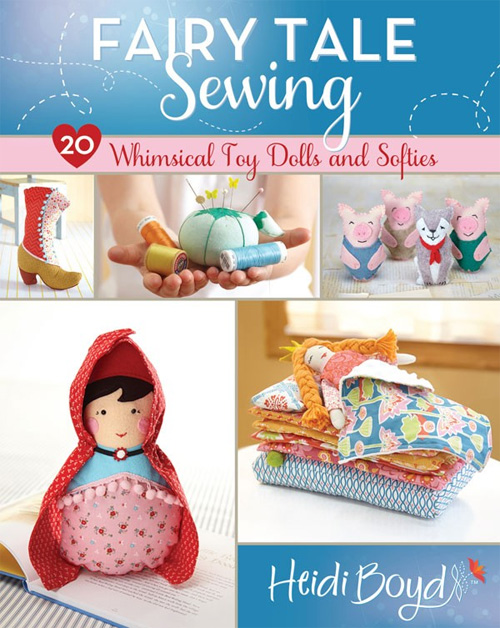 Choose from 20 sewing projects such as softies, dolls, toys and home decor.