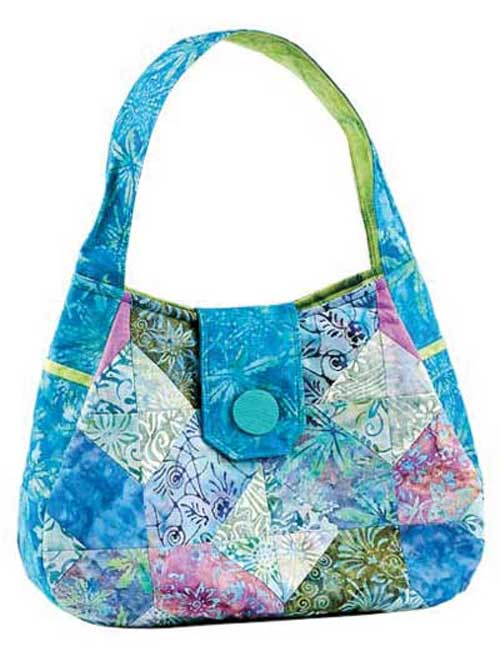 Make this bag using your favorite 5in charm squares.