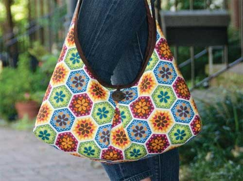 This bag is stylish and fully reversible.