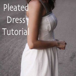 Pleated Dress – Free Sewing Pattern