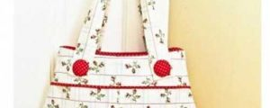 Pretty Pinafore Bag Sewing Pattern