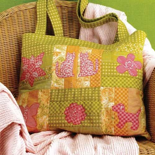 Spring Fling Tote Sewing Pattern