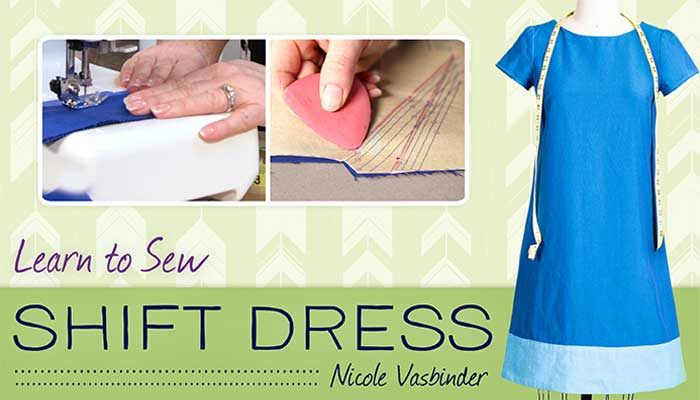Learn to Sew: Shift Dress Online Sewing Class