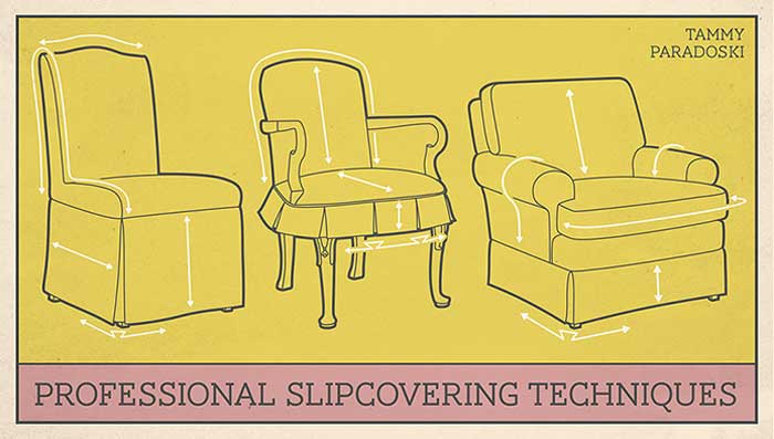 Professional Slipcovering Techniques Online Sewing Class