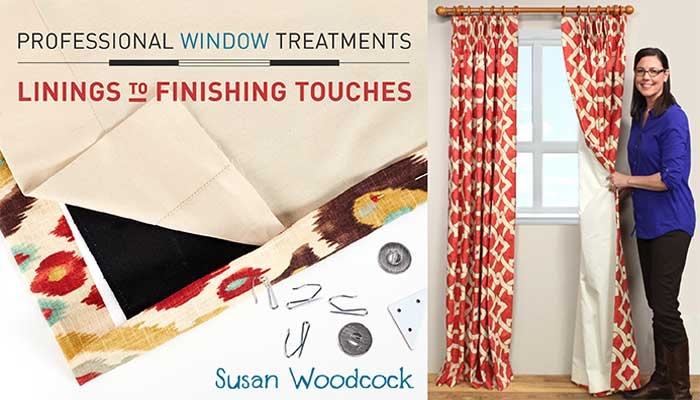 Professional Window Treatments Online Sewing Class