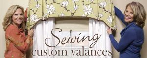 Sewing Custom Valances Online Class