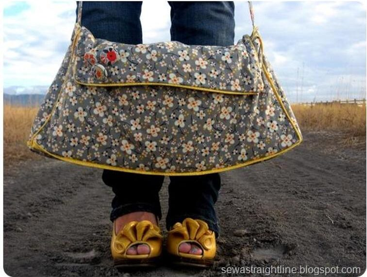 Not Just Another Pretty Purse – Free Sewing Pattern