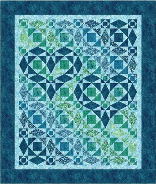 Our Hearts Will Go On Quilt Pattern