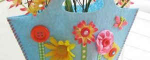 Spring Fling Felt Purse – Free Sewing Tutorial