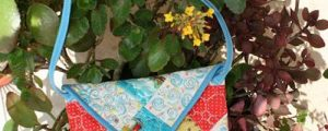 Leftover Block Envelope Bag – Free Sewing Tutorial