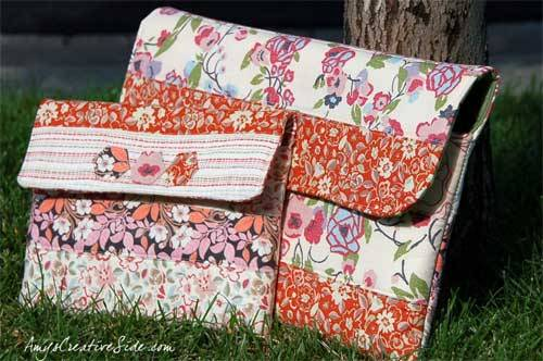 Ipad/Laptop Bag – Free Sewing Tutorial
