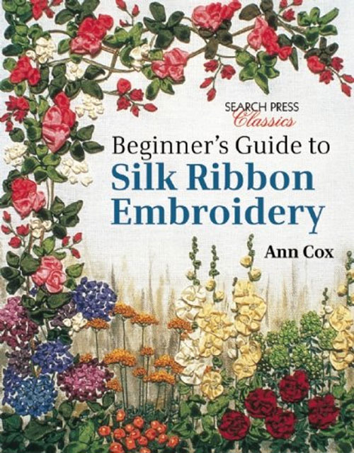 Create beautiful and exquisite hand stitched flower designs using silk ribbon embroidery techniques.