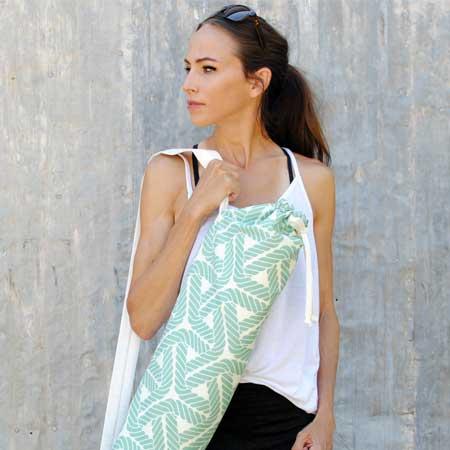 Yoga Mat Bag - Free Sewing Pattern