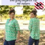 Everyday Elegance Top Sewing Pattern