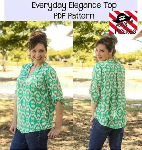 Everyday Elegance Top Sewing Pattern