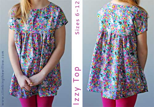 Izzy Top - Free Sewing Patternp
