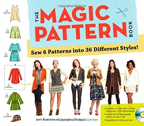 An illustrated guide to creating a one-of-a-kind wardrobe from six magic patterns.