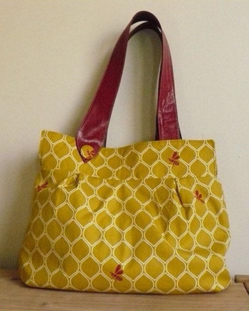 Free Bag Pattern and Tutorial - Wasp Bag