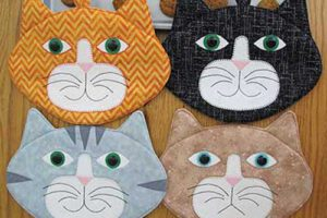 Allie Cats Hot Pad Sewing Pattern