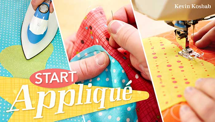 Add eye-catching designs to any project with three accessible applique methods!