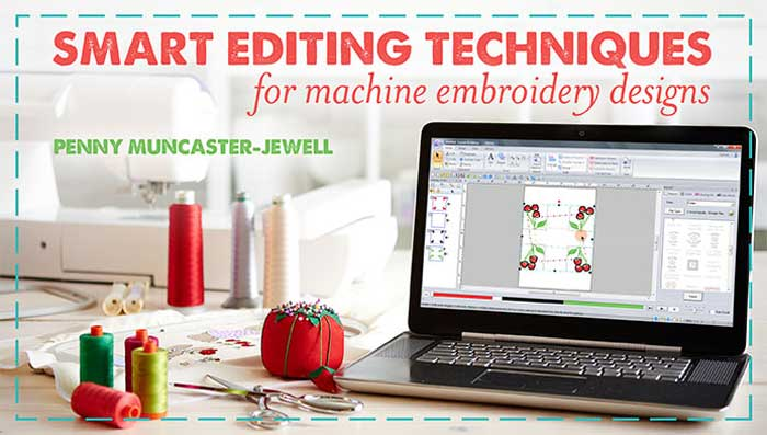 Learn simple software techniques to modify designs you already own! Discover how to work smarter, not harder, to create personalized embroidery projects.