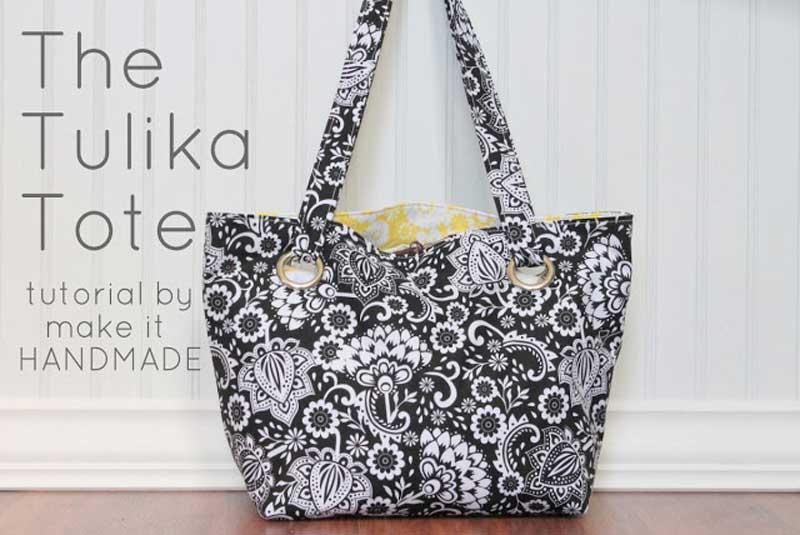 The Tulika Tote - Free Sewing Tutorial by Riley Blake Designs