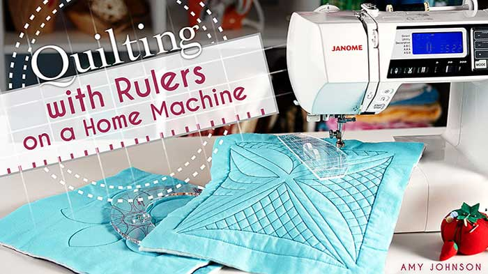 Quilting With Rulers on a Home Machine Online Class