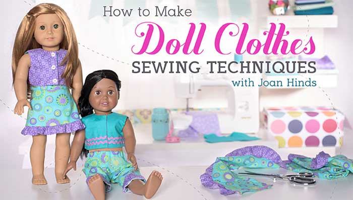 Make cute, handmade outfits for your little one's favorite 18