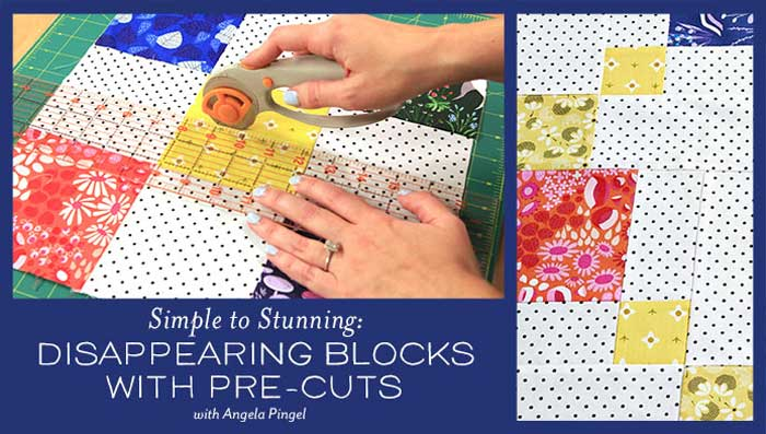 Disappearing Blocks With Pre-Cuts Online Class