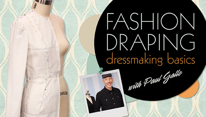 Fashion Draping Online Sewing Class