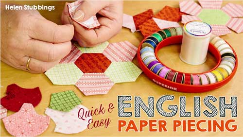 Quick & Easy English Paper Piecing Online Class